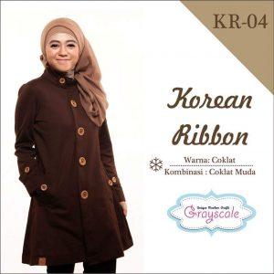 Jaket Terbaru Wanita Muslimah KR04