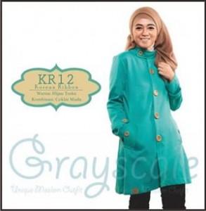 Jaket Terbaru Wanita Muslimah KR12