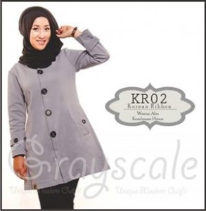 Jaket terbaru Wanita Muslimah KR02