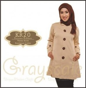 Jaket Terbaru Wanita Muslimah KR20