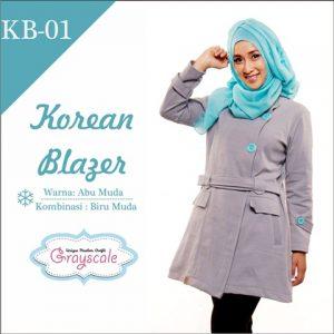 jaket terbaru jaket wanita muslimah blazer (1)