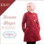 Jaket Terbaru Jaket Wanita Muslimah Blazer KB07