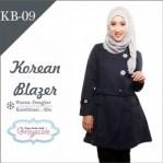 Jaket Terbaru Jaket Wanita Muslimah Blazer KB09
