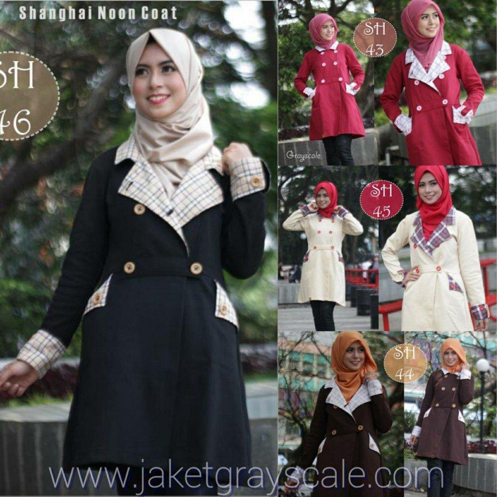 Model coat muslimah