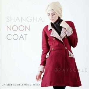 shangai coat Grayscale