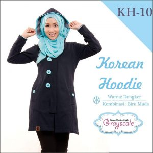 Hoodie Korean Muslimah Terbaru Jaket Untuk Travelling