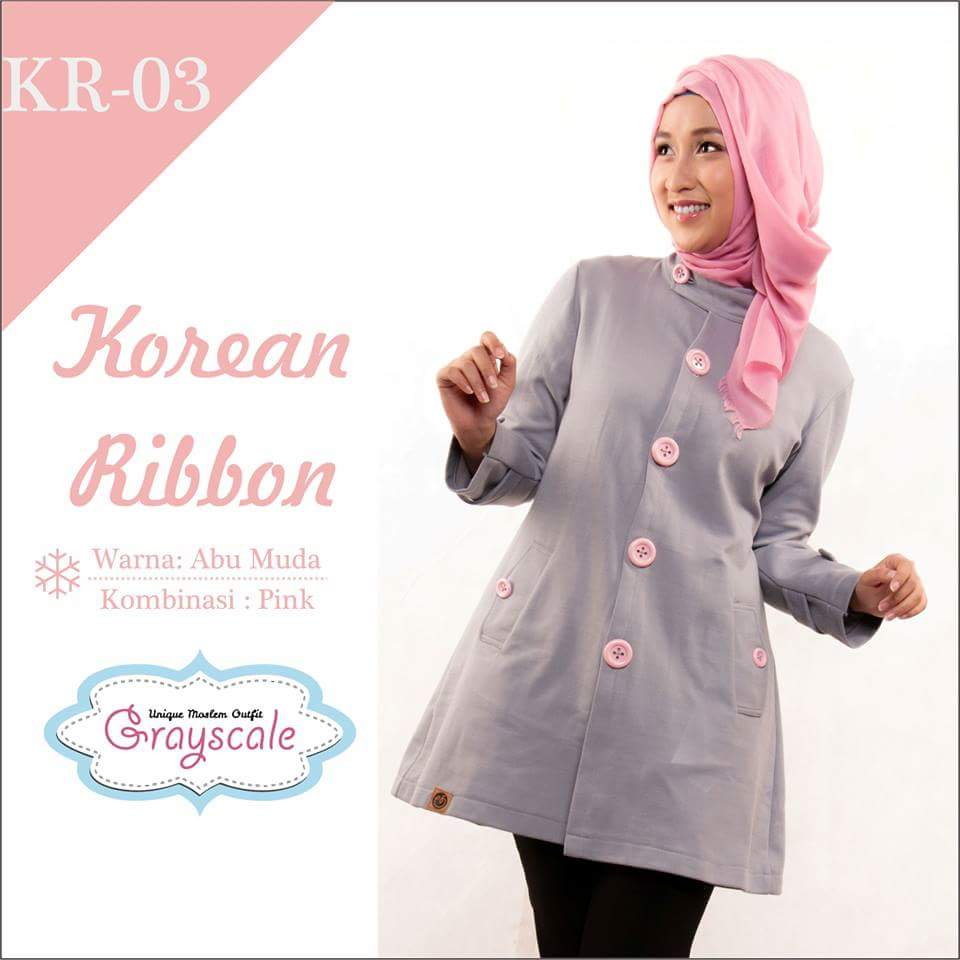 Jaket Grayscale Korean