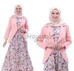 Vienna Blazer Dress Muslimah