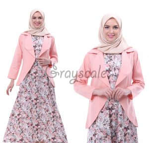 Vienna Blazer Dress Muslimah