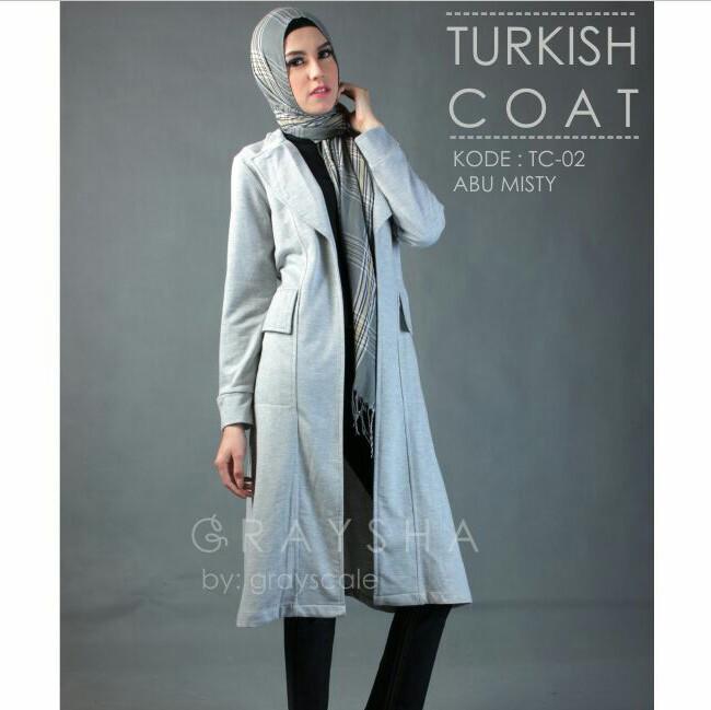 Coat Muslimah Murah