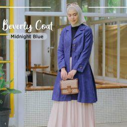 Beverly Coat Midnight Blue