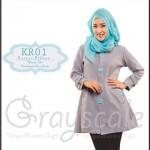 Jaket terbaru wanita muslimah KR01