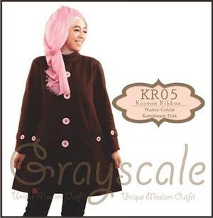 Jaket Terbaru Wanita Muslimah KR05