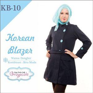 Jaket Terbaru Jaket Wanita Muslimah Blazer KB10