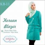 Jaket Terbaru Jaket Wanita Muslimah Blazer KB11