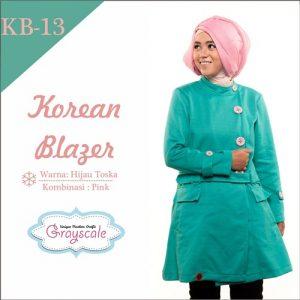 Jaket Terbaru Jaket Wanita Muslimah Blazer KB13