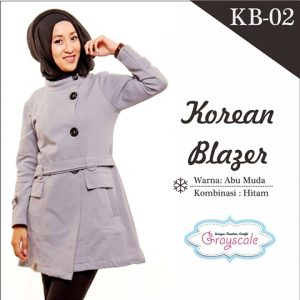 Jaket Terbaru Jaket Wanita Muslimah Blazer KB02