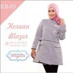 Jaket Korea Muslimah Blazer KB 3