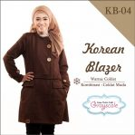 Jaket Korea Muslimah Blazer KB 4
