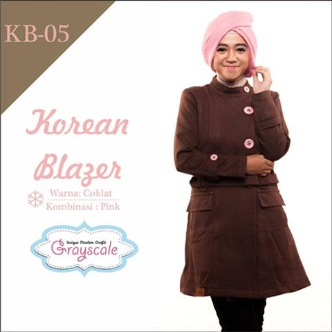 jaket terbaru jaket wanita muslimah blazer (5)