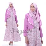 Blazer Muslimah Dress