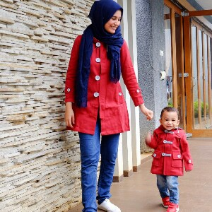 Jaket Kembaran Ibu dan Anak