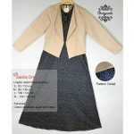 Sabria Dress Grayscale