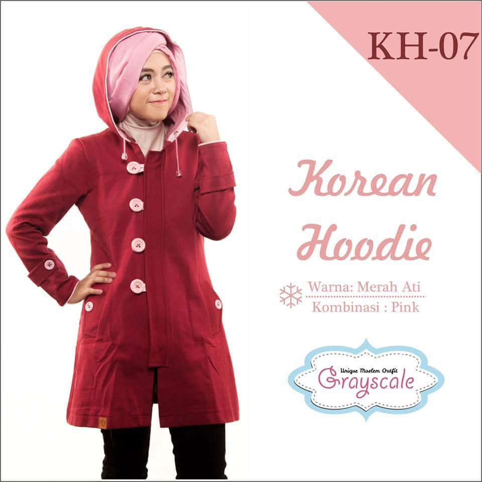 Jaket Korean Hoodie
