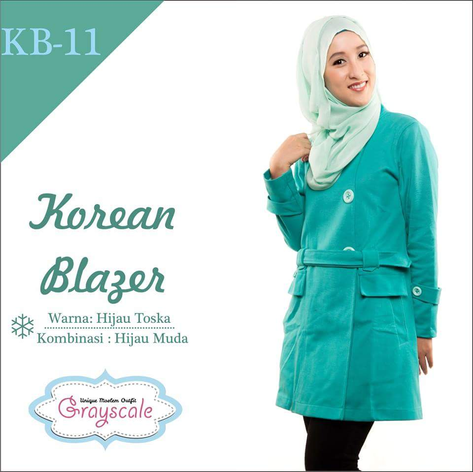 Jaket Korean Muslim Blazer