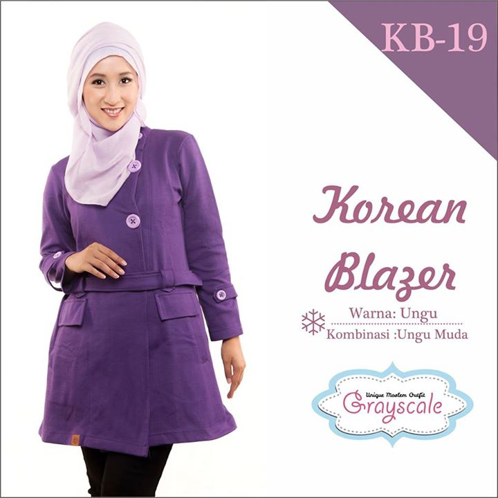 Jaket Muslim Model Korea