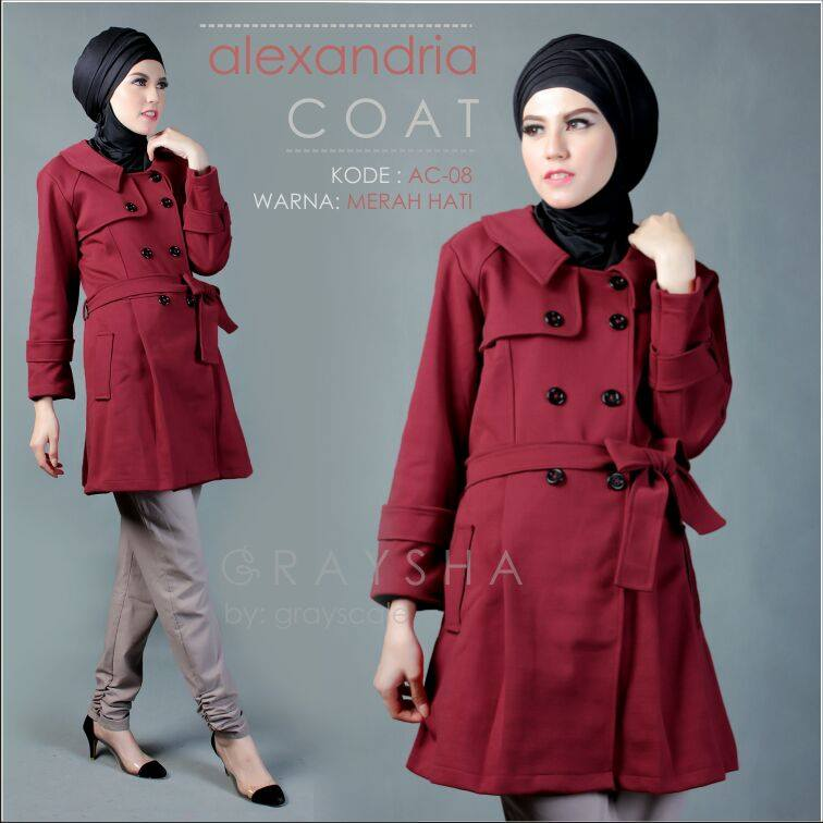 Muslimah Coat Dress