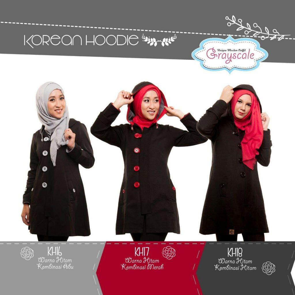 Jaket Sweater Muslimah Grosir