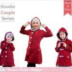 Jaket Muslimah Couple Dengan Anak