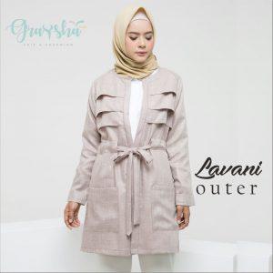 Grosir Jaket Wanita Bandung Lavani Outer Milo Graysha