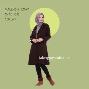 Jual Jaket Remaja Putri Berhijab Murah Valencia Coat VAC 04