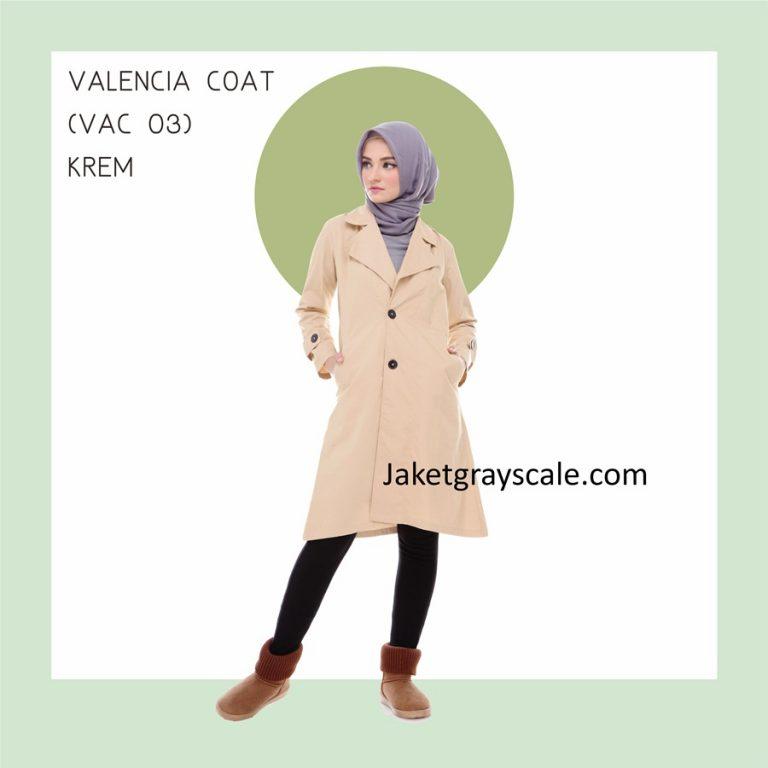 Jual Jaket Untuk Dipadukan Dengan Hijab Sampai Lutut