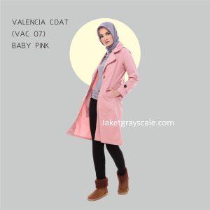 Jual Jaket Untuk Wanita Murah Valencia Coat Muslimah VAC 07