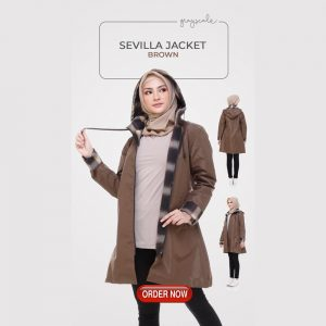 Sevilla Jacket Muslimah Brown